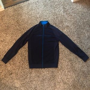 Full Zip Blue Under Armour Sweatshirt